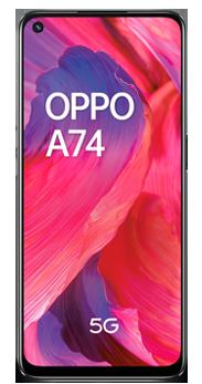Imagen Oppo A74 5G negro