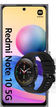 Adquirir Xiaomi Redmi Note 10 5G + Mi Watch